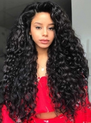 Brazilian Virgin Hair Human Hair Wigs Curly Hair Lace Wigs [BC270]