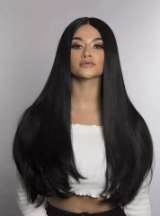 Silky Straight For Black Women Virgin Brazilian Hair 13*4 Lace Front Wigs[BC265]