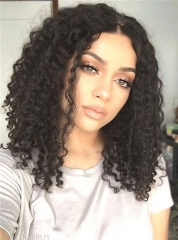 Brazilian Virgin Hair Human Hair Wigs Deep Curly Hair Lace Wigs [222]